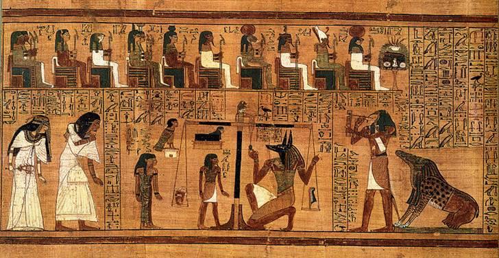 Resultado de imagem para O Livro Egípcio dos Mortos